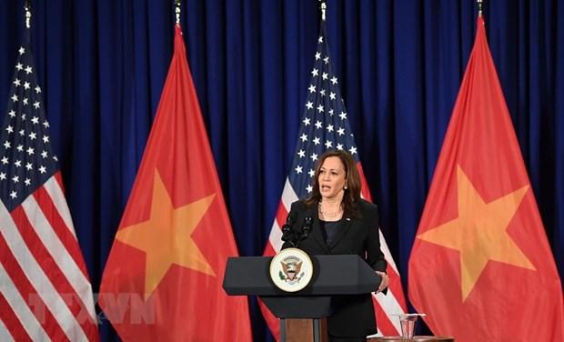 美国副总统哈里斯访问越南:续写越美两国关系新篇章 hinh anh 1