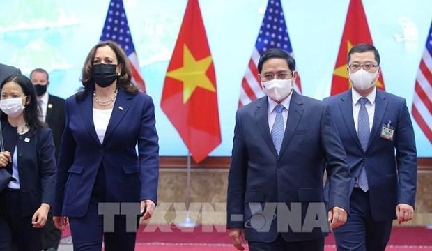 白宫就越美全面伙伴关系发表声明 hinh anh 1