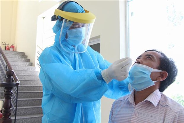 响应越共中央总书记的号召:海外越南人向胡志明市赠送医用口罩 hinh anh 1