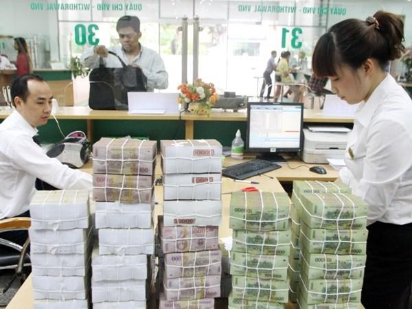自 9月1日起越南盾法定准备金年存款利率为0.5% hinh anh 1