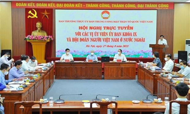 进一步提升旅居捷克和欧洲越南人社群的作用与地位 hinh anh 1