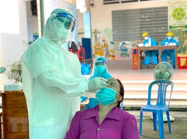 29日越南确诊病例12796例 平阳省和胡志明市病例数超1万例 hinh anh 1