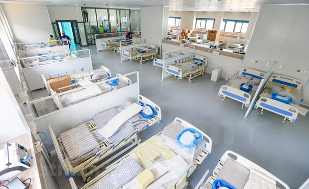 河内:新冠肺炎患者救治定点医院拟于9月1日投运 hinh anh 1