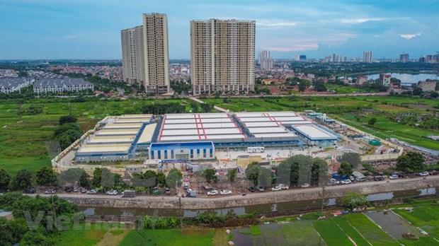 河内:新冠肺炎患者救治定点医院拟于9月1日投运 hinh anh 2