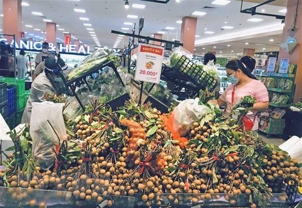 2021年8月河内市和胡志明市消费价格指数继续上涨 hinh anh 1