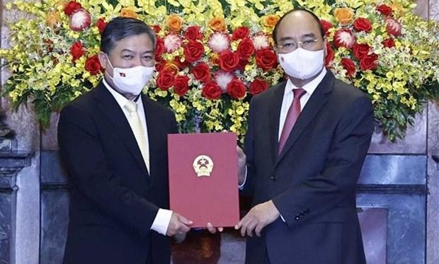 阮辉僧出任越南驻柬埔寨大使 hinh anh 1