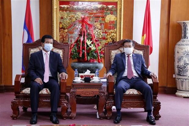 越南国庆76周年:老挝各部门领导高度评价越南取得的成就 hinh anh 2