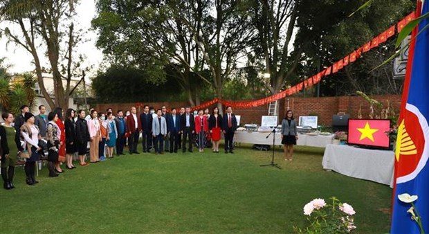 越南驻外使领馆和使团举行国庆76周年庆祝活动 hinh anh 2