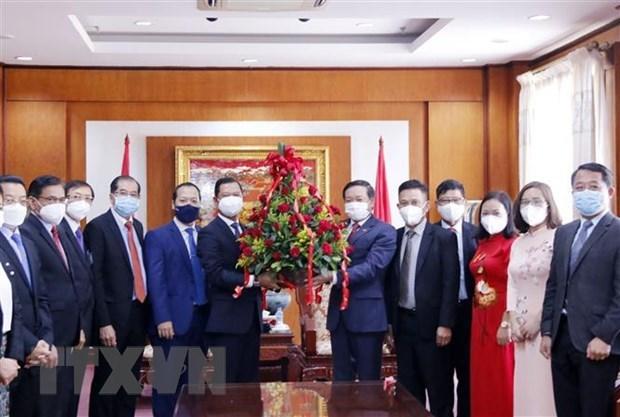 越南驻老挝大使:越南的国际地位不断提高 hinh anh 1