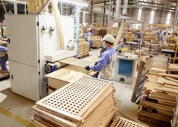 2021年8月上半月越南木材与木制品出口额大幅度下降 hinh anh 1