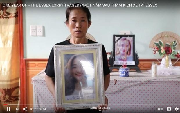 越南新闻英文版关于埃塞克斯货车惨案的影片参加浦那国际电影节 hinh anh 1