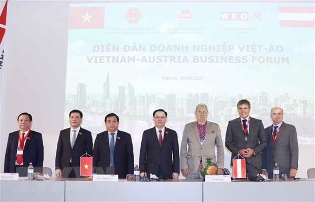 欧洲媒体高度评价越南国会主席的访问之旅 hinh anh 1