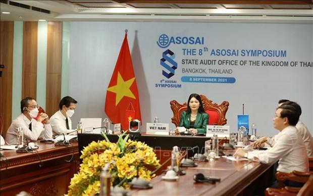ASOSAI15: 最高审计机关亚洲组织与新常态 挑战中的复苏能力 hinh anh 1