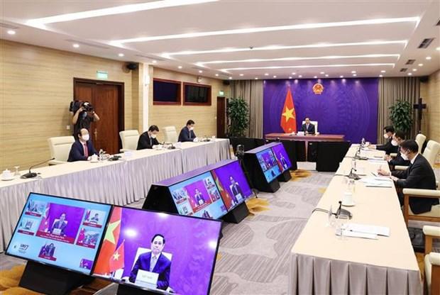 越南政府总理范明政出席大湄公河次区域经济合作第七次领导人会议 hinh anh 2