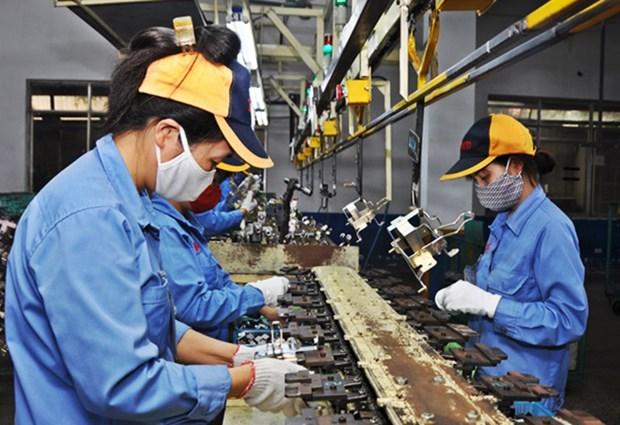 永福省采取多项措施来推动辅助工业发展 hinh anh 1