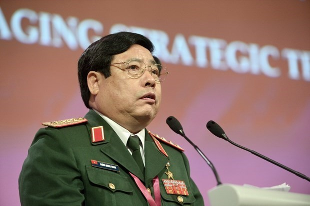 越南原国防部长冯光青大将逝世 hinh anh 1