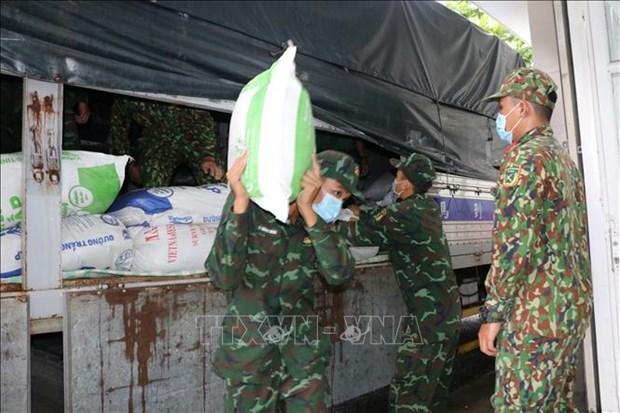 越南政府决定为嘉莱、平福和朔庄三省发放救济大米和其它物资 hinh anh 1