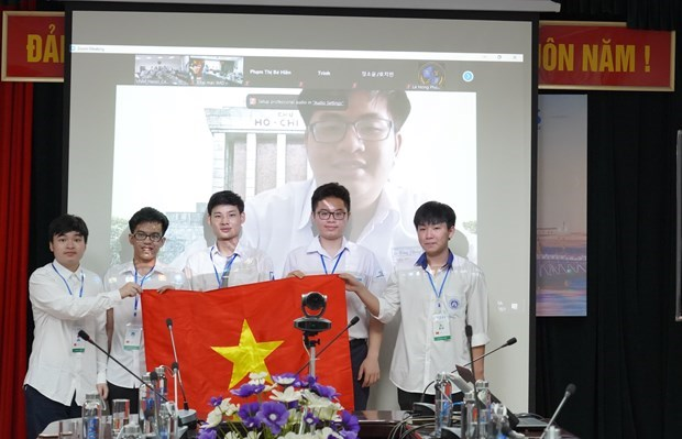 越南学生在国际奥林匹克竞赛中取得优异成绩 hinh anh 1