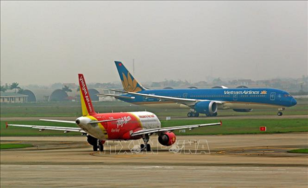 越南航空局计划重新开通国内航线 hinh anh 1