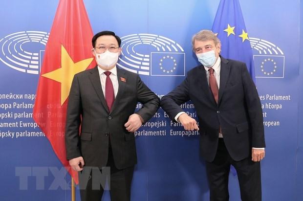 越南副外长苏英勇:国会主席王廷惠欧洲之行成果超出预期 hinh anh 2