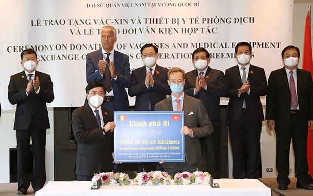 越南副外长苏英勇:国会主席王廷惠欧洲之行成果超出预期 hinh anh 3