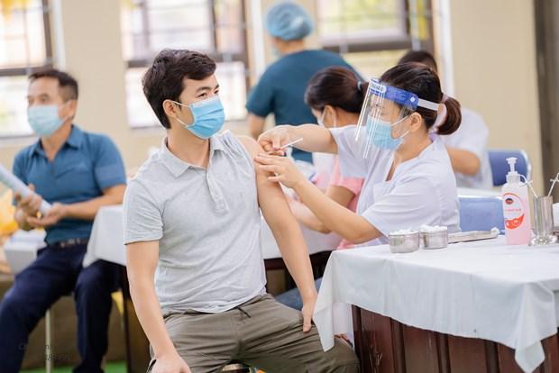 越南全国新冠疫苗接种剂次已超3040万 hinh anh 2