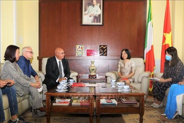 意大利愿同越南开展新冠肺炎治疗合作 hinh anh 2