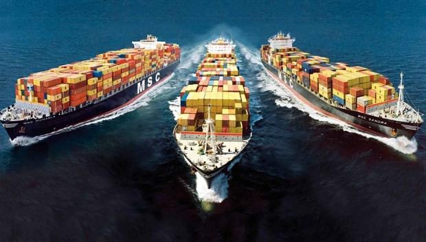 世界第三大集装箱公司承诺不上调越南货运费用 hinh anh 1