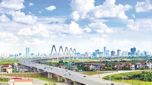 2021年前8个月首都河内经济努力攻坚克难 hinh anh 1