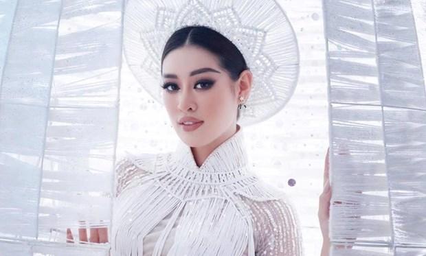 越南两名佳丽入围2020年度Miss Grand Slam竞选42强 hinh anh 1