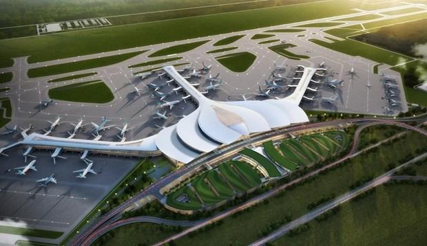 加快隆城国际机场项目一期工程施工进度 hinh anh 1