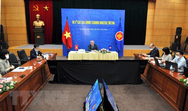 东盟经济部长级磋商:巩固地区供应链和实现可持续发展 hinh anh 1