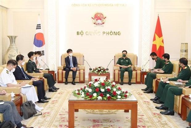 越南与韩国加强防务合作 hinh anh 1
