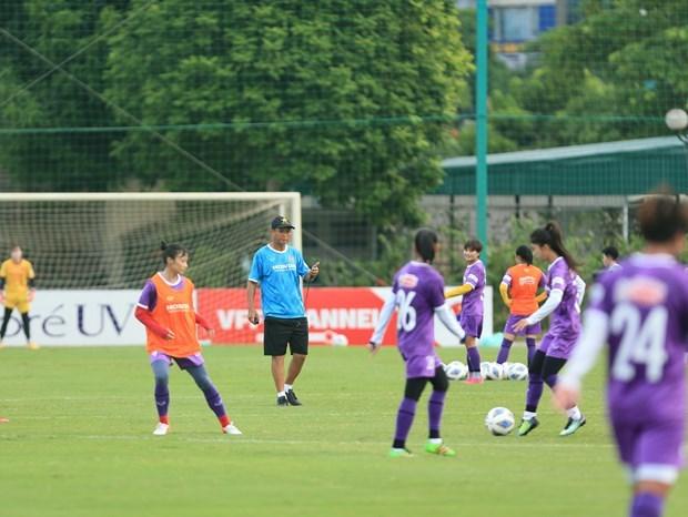 2022年女足亚洲杯预选赛:越南对在B组只剩下两个对手 hinh anh 1