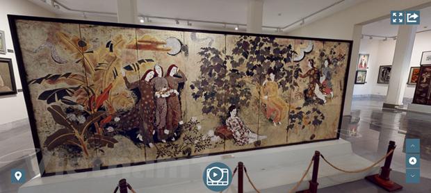 虚拟博物馆为游客带来新体验 hinh anh 1