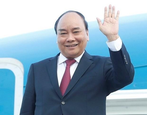 越南国家主席阮春福启程对古巴进行正式友好访问和出席在美国举行的第76届联合国大会一般性辩论 hinh anh 1