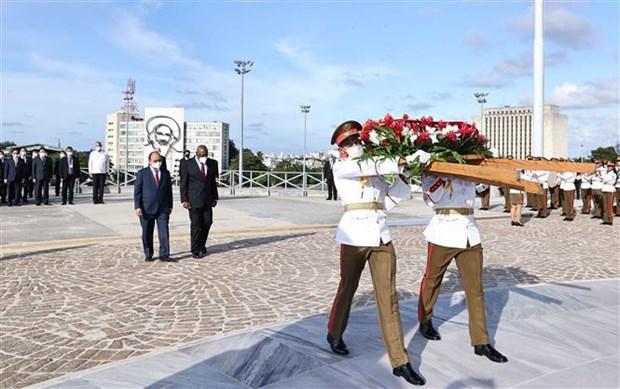 越南国家主席阮春福圆满结束对古巴进行正式访问 hinh anh 5