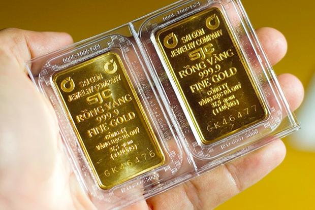 9月21日上午越南国内黄金价格上涨30万越盾 hinh anh 1