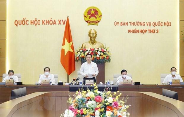 越南国会常务委员会第三次会议闭幕 hinh anh 1