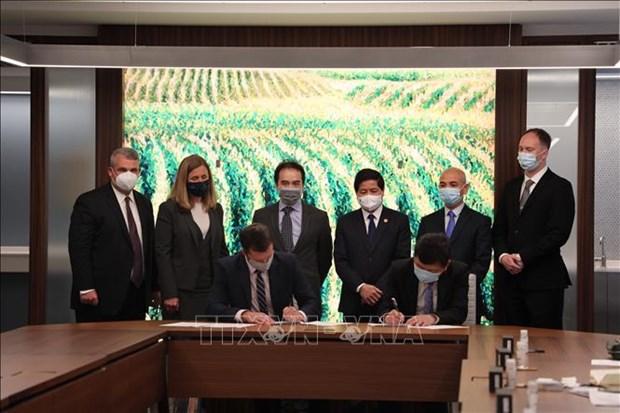 越南与美国加强农业领域合作 hinh anh 1