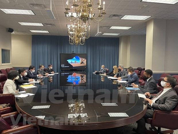越南与美国加强农业领域合作 hinh anh 2