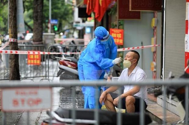 越南新增确诊病例8537例 新增治愈出院病例12371例 hinh anh 1