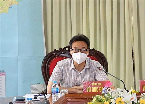 武德儋:自10月1日起胡志明市将按新指令逐步放宽社交距离措施 hinh anh 1