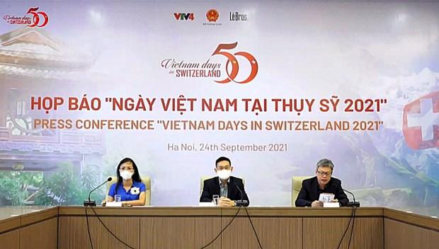 2021年瑞士越南日活动将于2021年10月举行 hinh anh 2