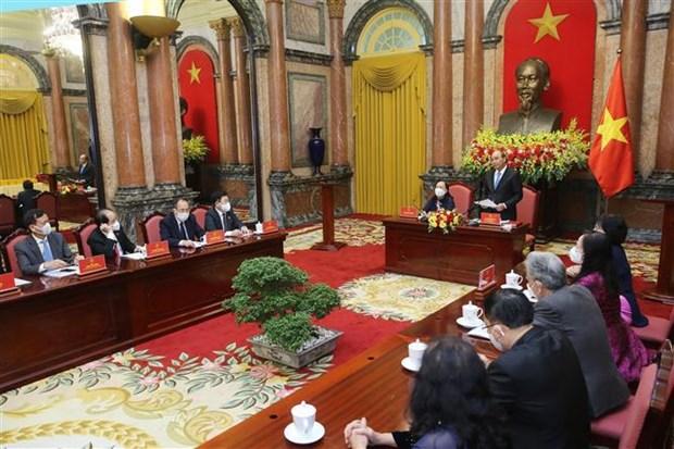 国家主席阮春福:老年人是家庭和社会的支柱 hinh anh 1