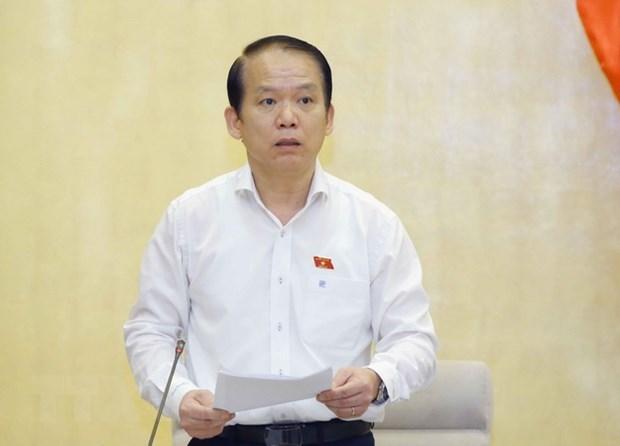 越南国会法律委员会召开会议 讨论《知识产权法若干条款修改补充法》 hinh anh 1