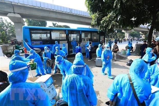 9月29日越南新增新冠肺炎确诊病例8758例 新增治愈出院病例23568例 hinh anh 1