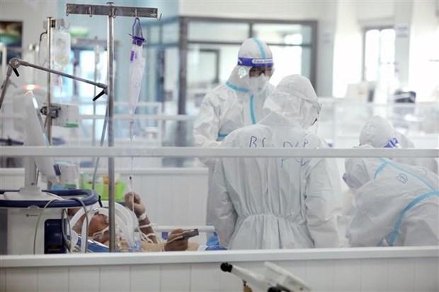 胡志明市外国企业和公民捐赠物资 支援疫情防控工作 hinh anh 2