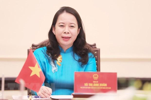 越南国家主席武氏映春与尼日利亚副总统耶米·奥辛巴乔通电话 hinh anh 2