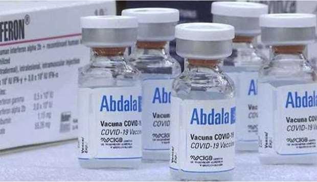 政府批准拨出资金购买500万剂Abdala新冠疫苗 hinh anh 1